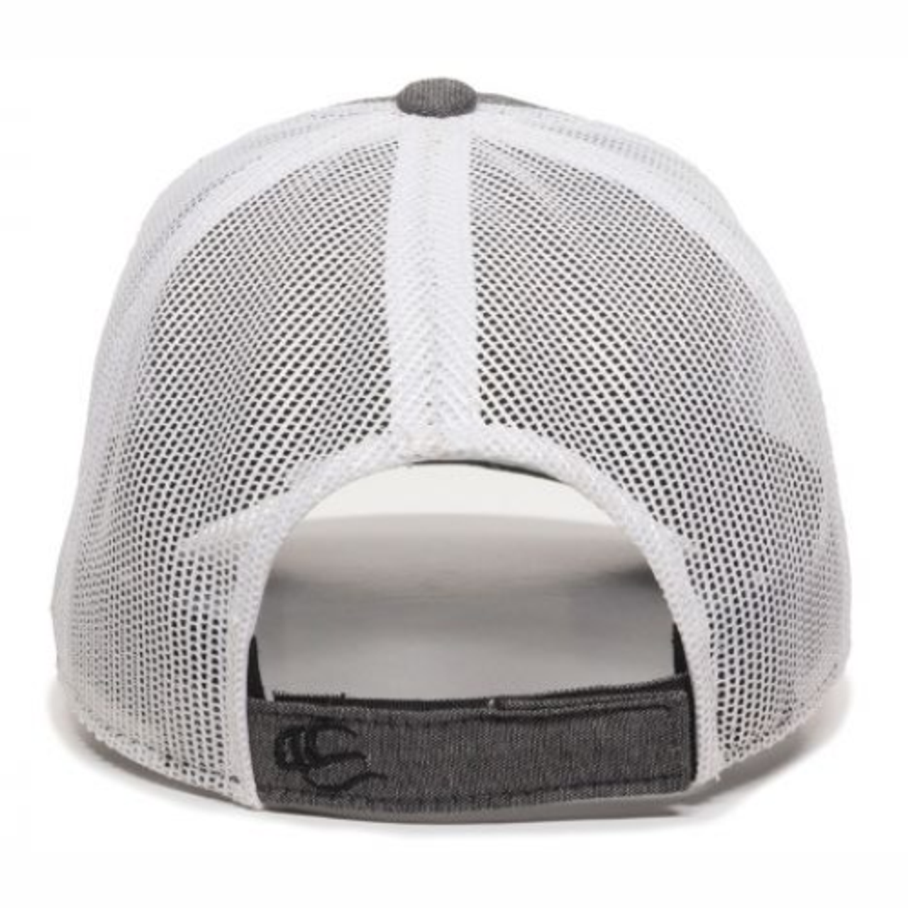 NOVA RFC White Mesh-Back Adjustable Hat