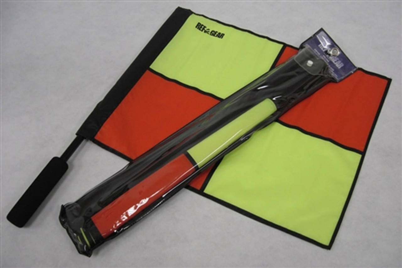 Deluxe Quarter Panel Linesman Flag Set