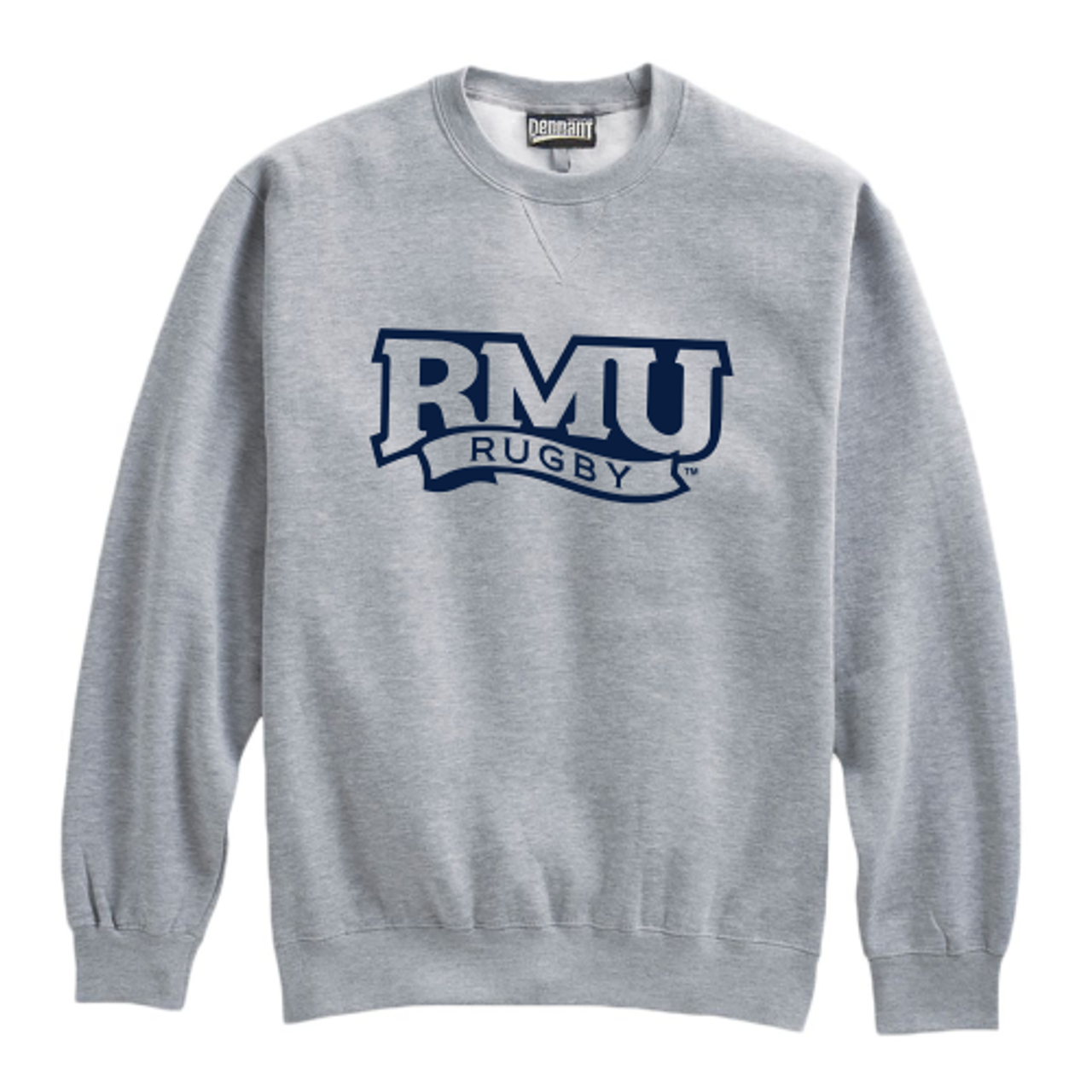 Robert Morris Fleece Crewneck, Gray