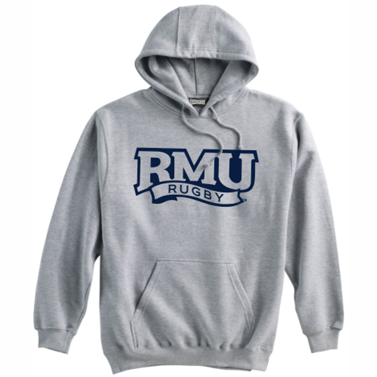 Robert Morris Fleece Hoodie, Gray