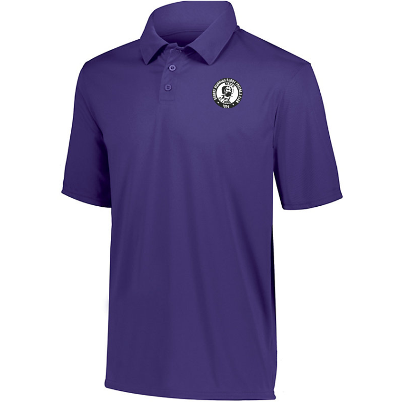 Sunday Morning Rugby Performance Polo, Purple