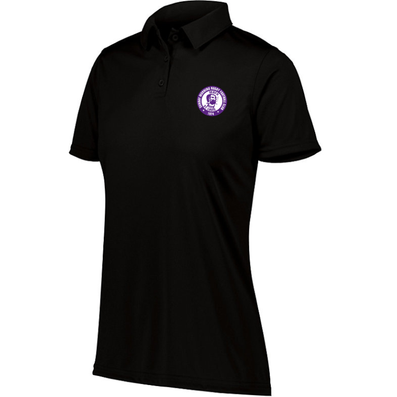 Sunday Morning Rugby Performance Polo, Black