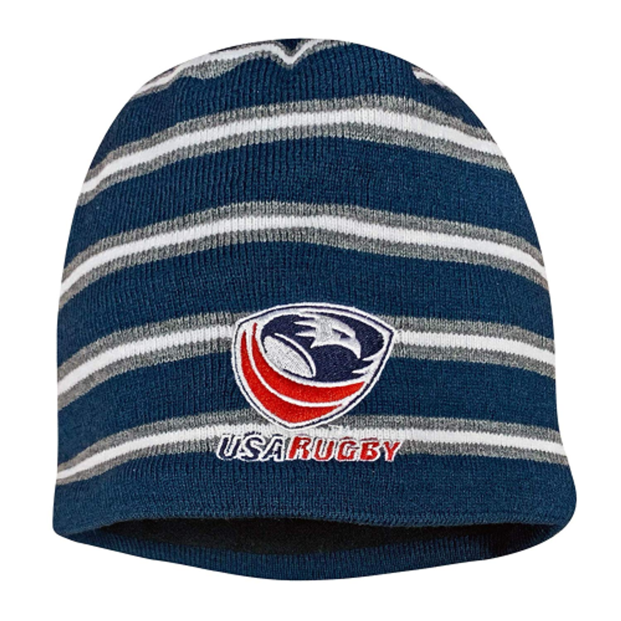 USA Rugby CCC Fleece-Lined Beanie, Navy