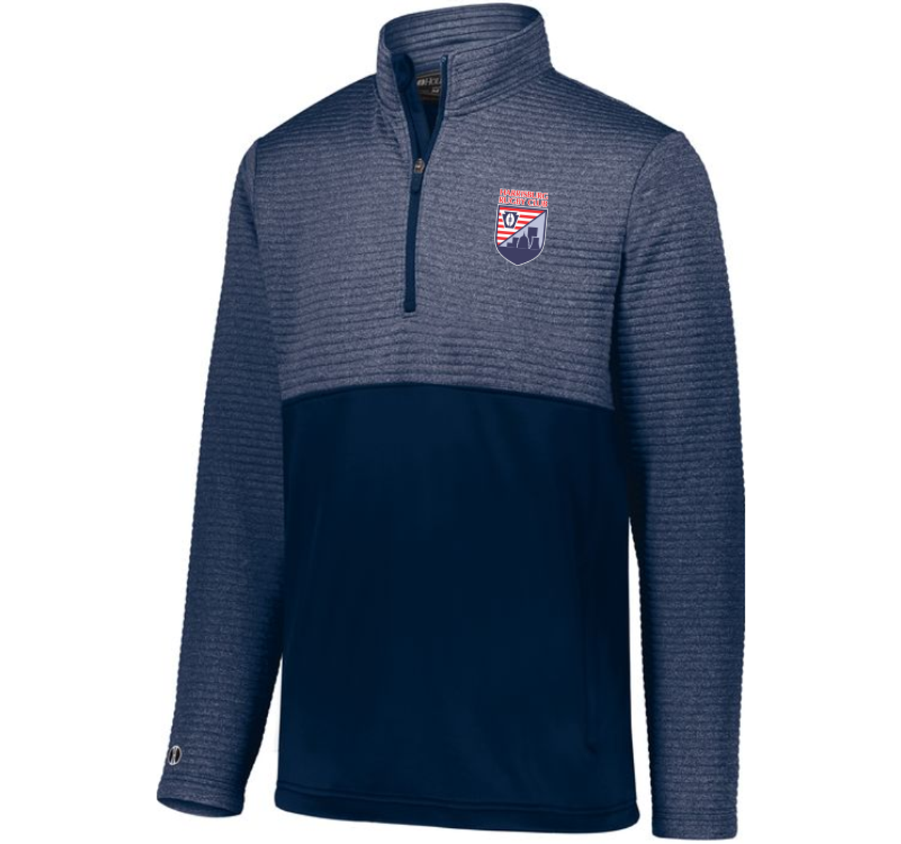 Harrisburg Rugby 1/2-Zip Quilted Pullover