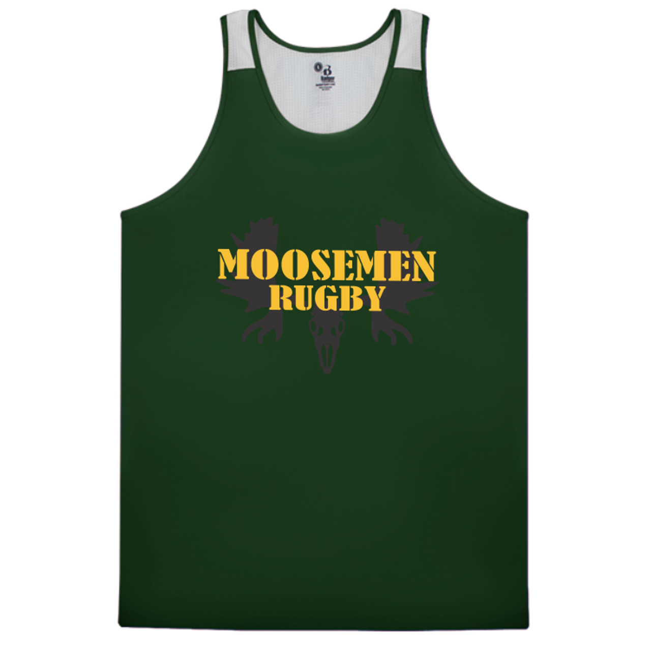 Moosemen Rugby Vent Back Tank