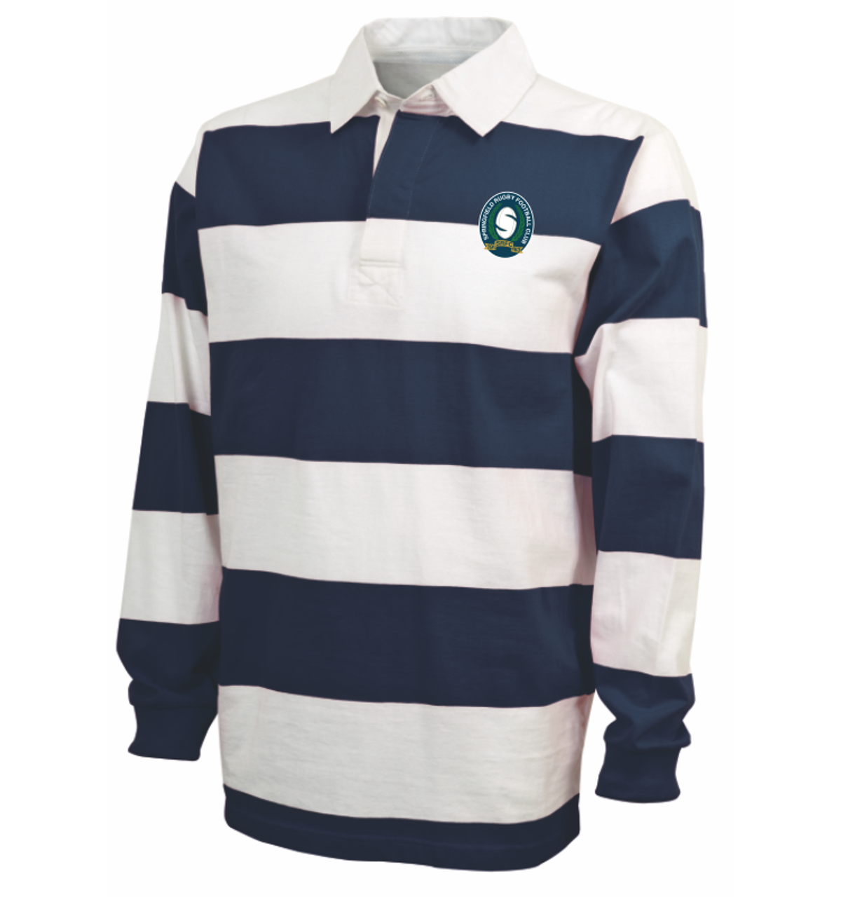 Springfield Rugby Striped Polo