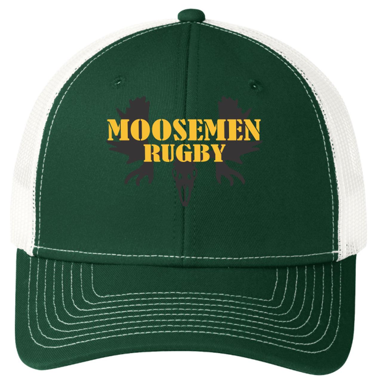Moosemen Rugby Snapback Mesh Hat