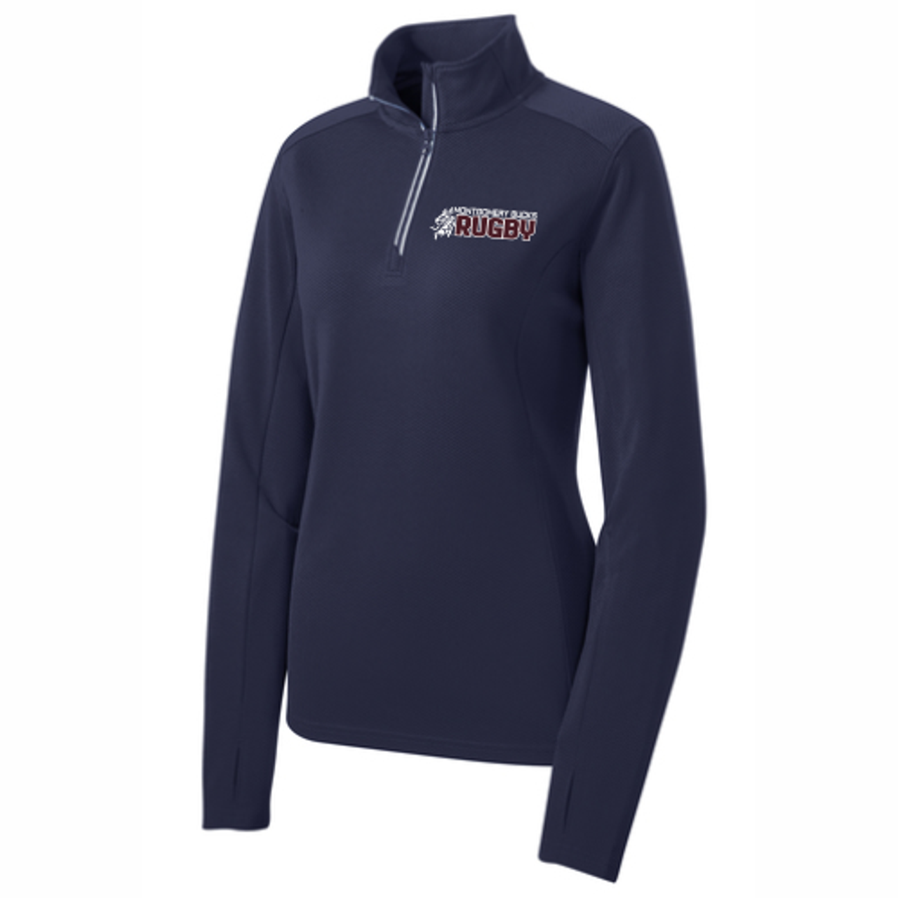MB Rugby Textured 1/4-Zip Pullover
