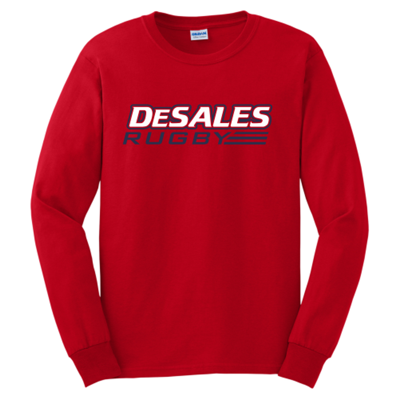 DeSales Rugby Tee, Red