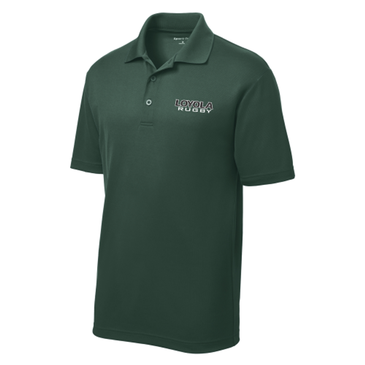 Loyola Performance Polo, Forest