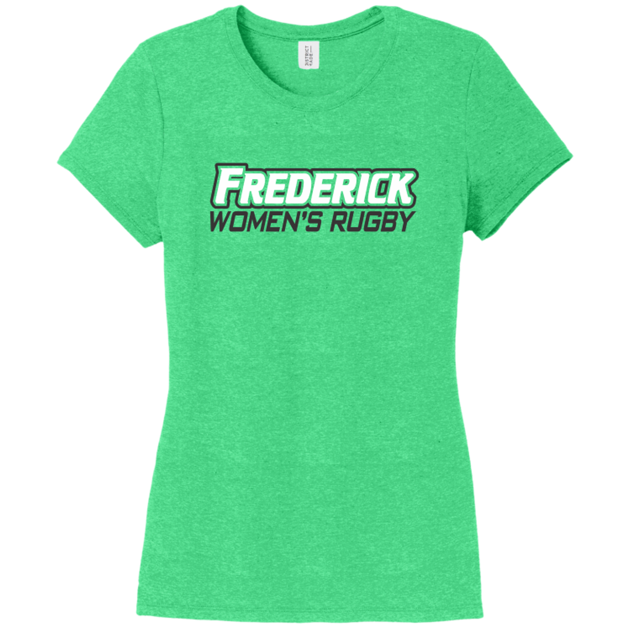 Frederick Women Triblend Tee, Green