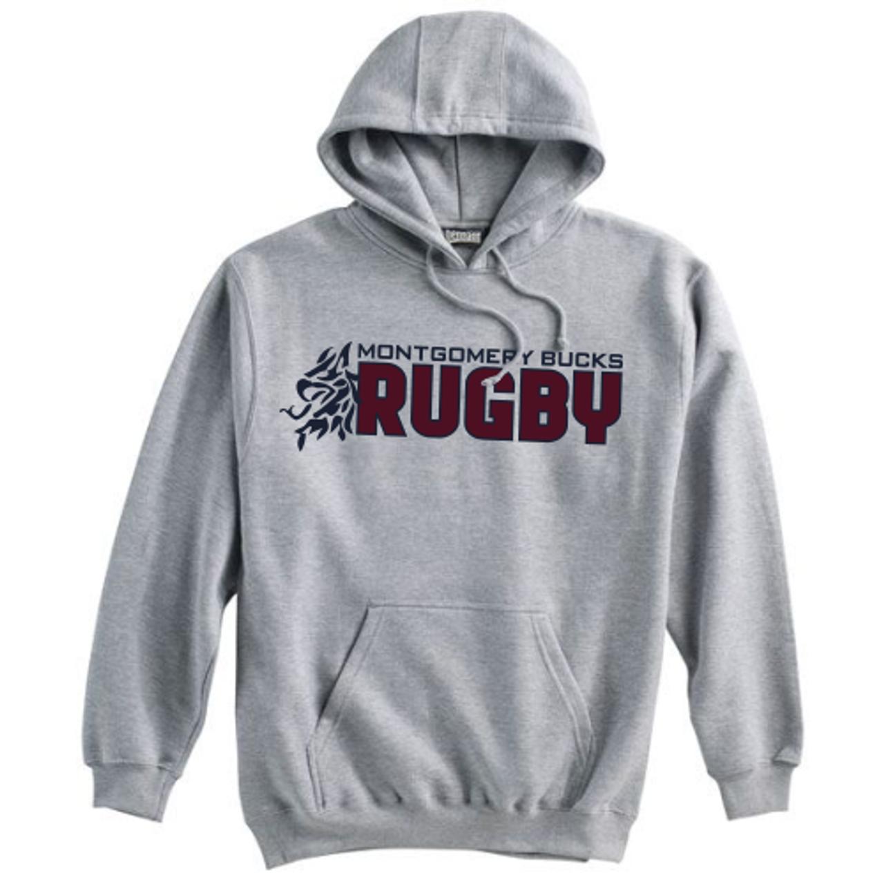 MB Rugby Hoodie, Gray