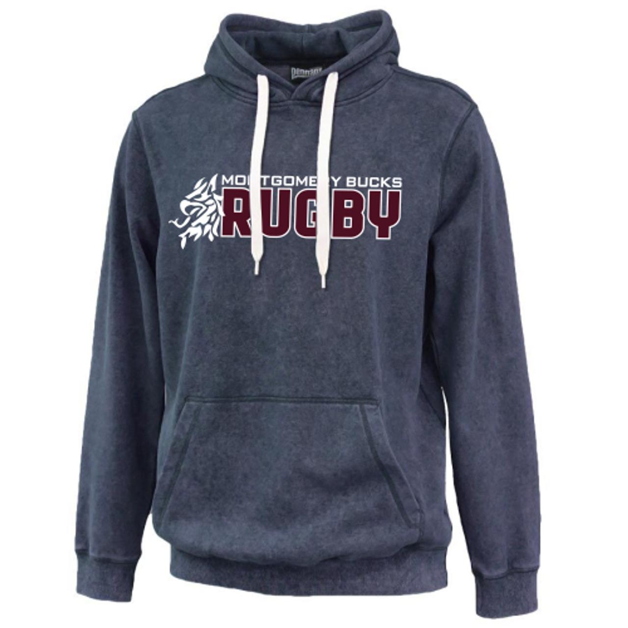 MB Rugby Sandwashed Hoodie