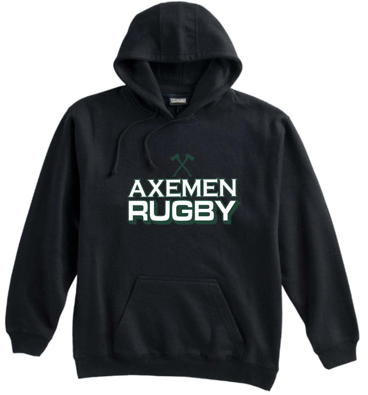 Axemen Rugby Hoodie, Black
