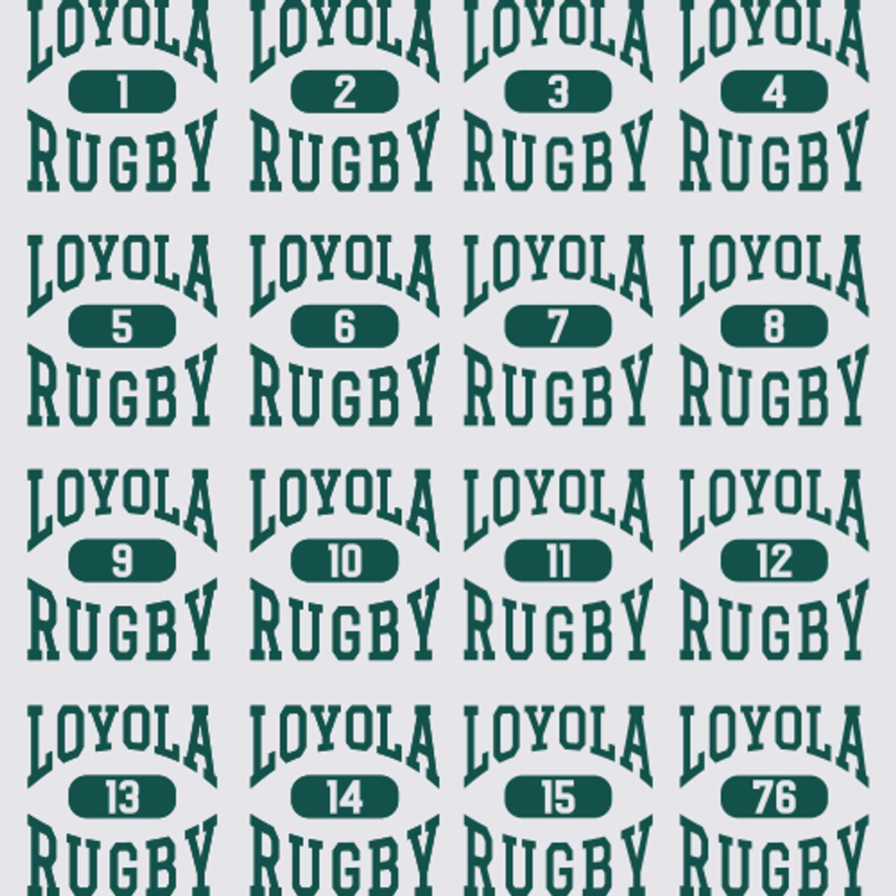 Loyola Rugby Super Heavyweight Hoodie