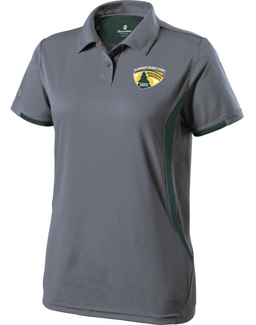 Women's athletic cut premium performance polo