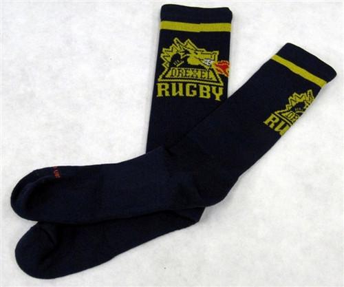 Drexel Rugby Crew Socks