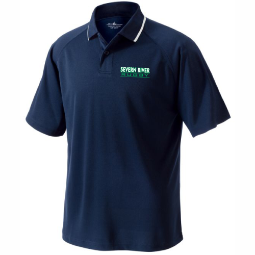 Severn River Performance Polo, Navy