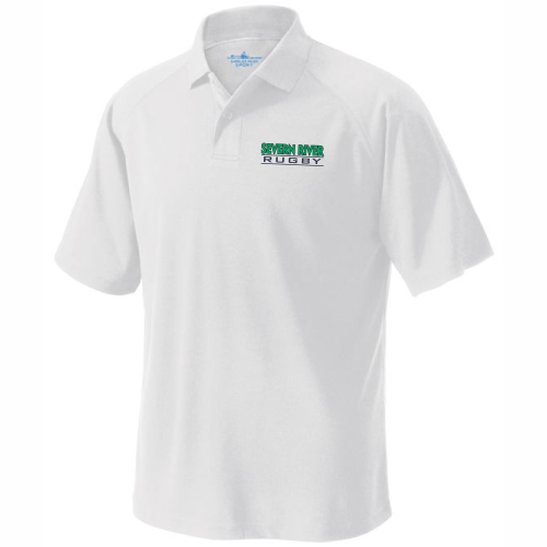 Severn River Performance Polo, White