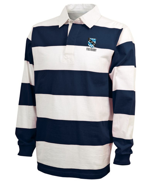 SF Fog Rugby Stripe Polo
