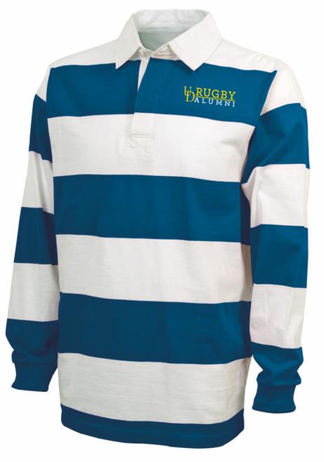 UD Alumni Rugby Stripe Polo