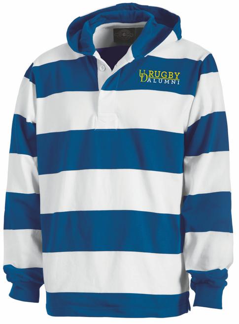UD Alumni Rugby Stripe Hoodie
