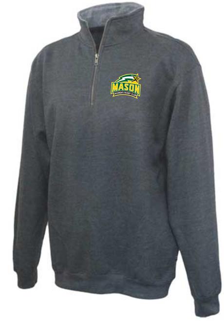George Mason Women 1/4-Zip Fleece, Charcoal