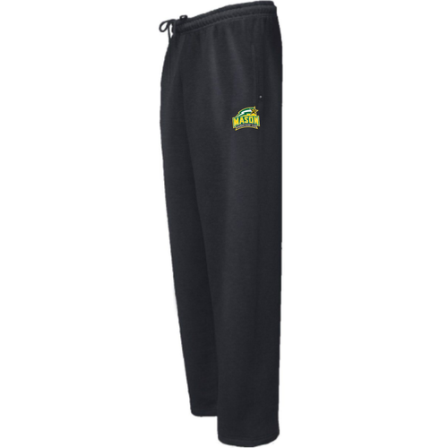George Mason Women Sweatpant, Black