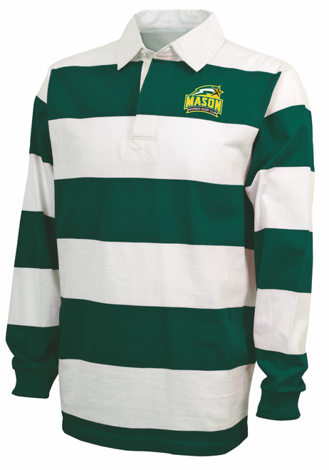 George Mason Women Rugby Stripe Polo
