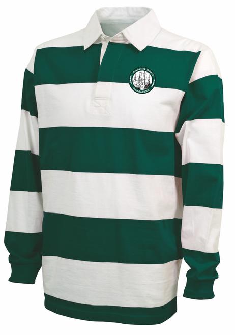 Frederick Women Rugby Stripe Polo