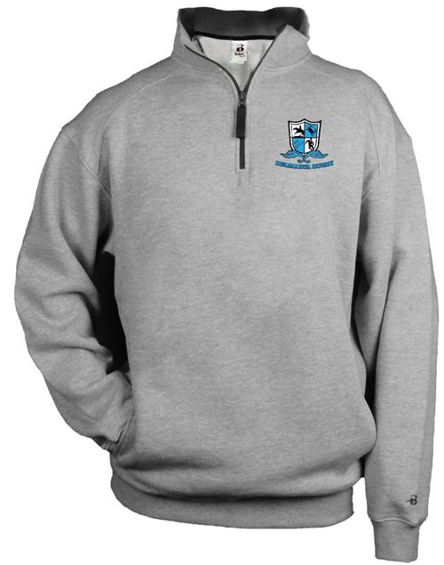 Delmarva Rugby 1/4-Zip Fleece Pullover
