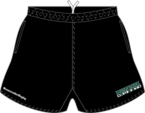 Point Park SRS Pocketed Performance Rugby Shorts