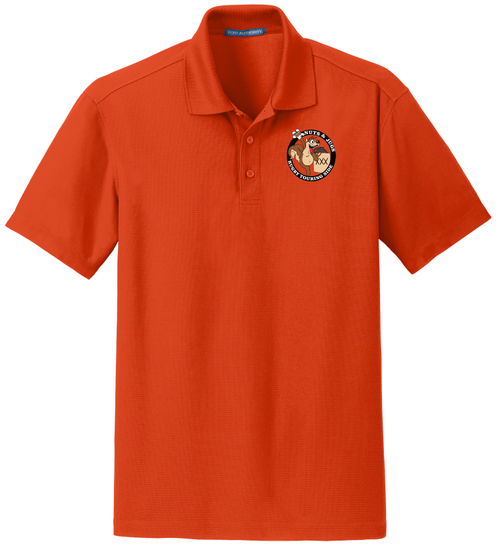 Nuts & Jugs Performance Polo, Orange