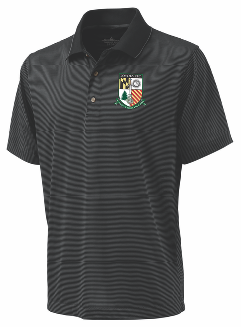 SLOB Rugby Microstripe Performance Polo