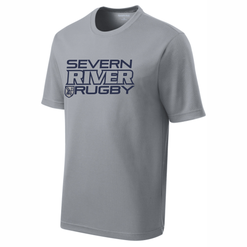 Severn River Performance Team Tee, Gray