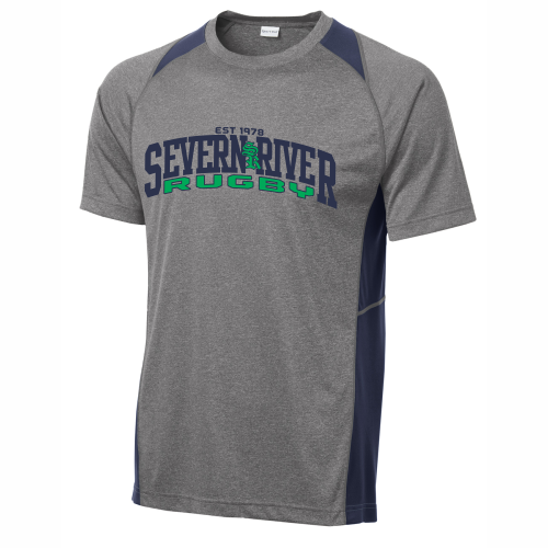 Severn River Colorblock Performance Tee