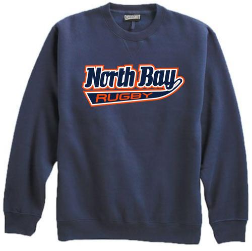North Bay Crewneck Sweatshirt, Navy