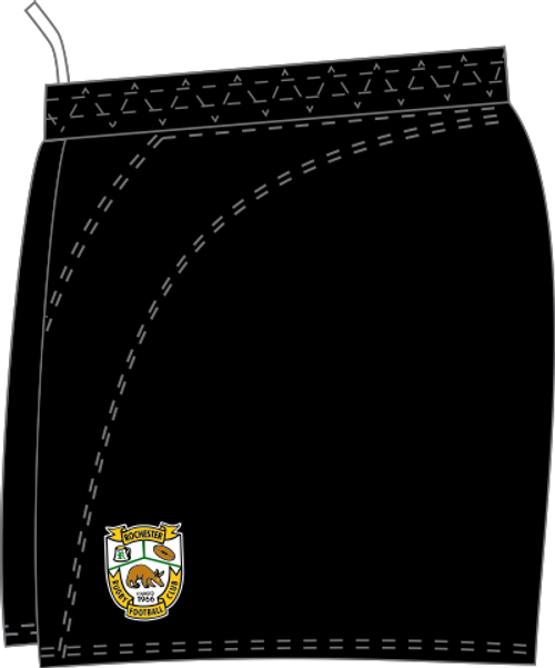Rochester Aardvarks SRS Performance Rugby Shorts