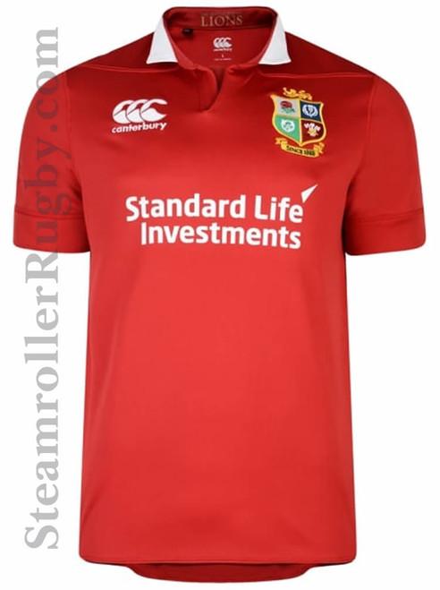 CCC British & Irish Lions Vaposhield Match Day Pro Jersey, Red