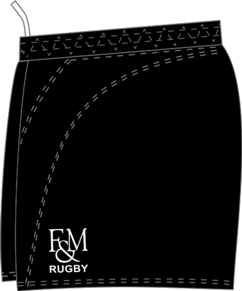 F&M Rugby SRS Performance Rugby Shorts