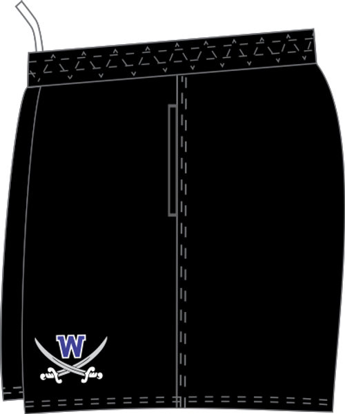 Warriors SRS Pocketed Performance Rugby Shorts