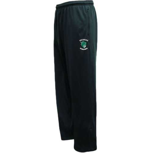 Columbus Kodiaks Performance Fleece Pants, Black