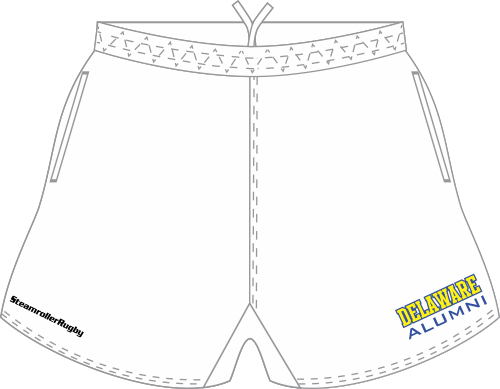 UD Alumni SRS Pocketed Performance Rugby Shorts