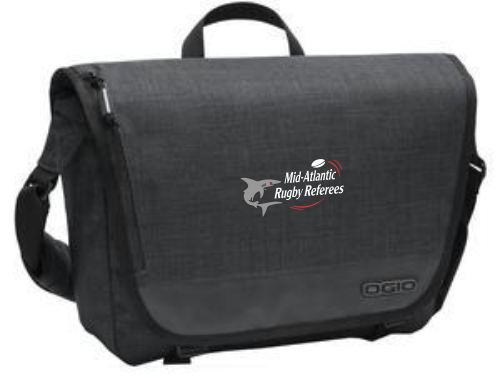 Mid-Atlantic Rugby Referees Messenger Bag
