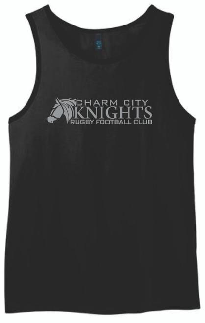 Charm City Knights Tank Top, Black