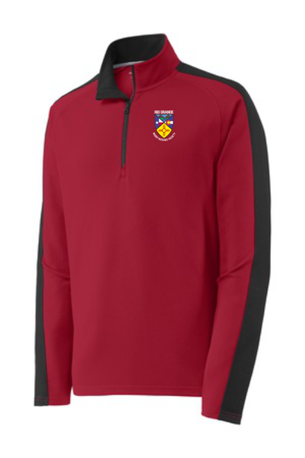 Rio Grande Rugby Referees Colorblock Textured Pullover