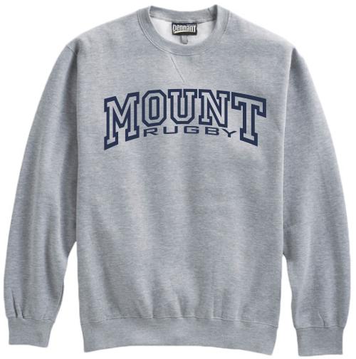 Mount Rugby Crewneck Sweatshirt