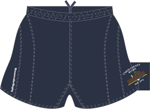 Union Rugby SRS Performance Shorts, Navy