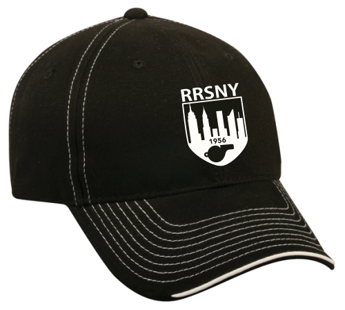RRSNY Twill Adjustable Hat, Black