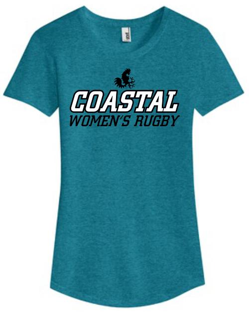 Coastal Carolina WRFC Ladies-Cut Triblend Tee